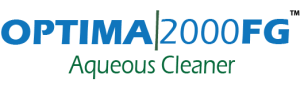 OPTIMA  2000FG AQUEOUS CLEANER logo