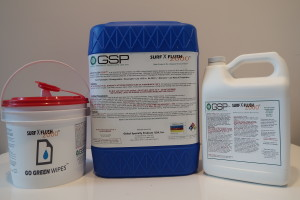 SURFX FLUSH 1 AND 5 GAL AND WIPES